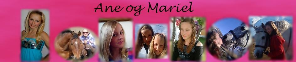 Ane og Mariel